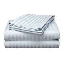 Wilde 800 Thread Count Egyptian Quality Cotton Stripe Pillow Cases (Set of 2)
