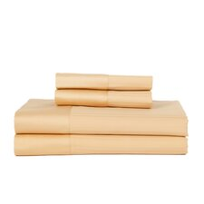 Hobbes 4 Piece 540 Thread Count Egyptian Quality Cotton Sheet Set