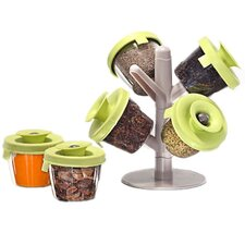 7 Piece Pop Up Spice Rack Set