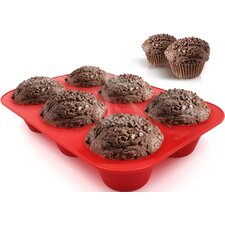 Silicone 6 Cup Jumbo Muffin (Set of 2)