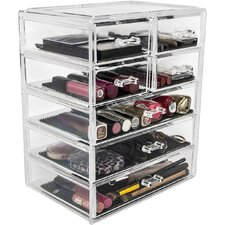 Acrylic Makeup Organizer with Removable Drawers