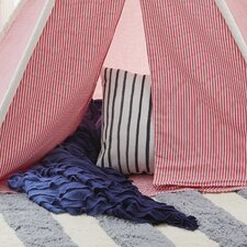 Cotton Canvas 6' Play Teepee