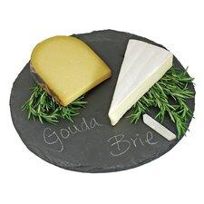 Country Home Circle Slate Cheese Board
