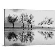 A Reflection of Karsiyaka by Ali Ayer Photographic Print on Canvas