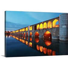 Reflections of Arches by Mohammadreza Momeni Photographic Print on Canvas