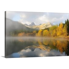 Foggy Reflection by Victor Liu Photographic Print on Canvas