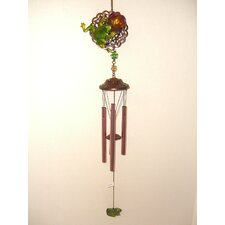 Frog 2 Sided Poly Metal Wind Chime