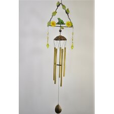 Frog Metal Triangle Shape Wind Chime