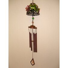 Frog Lamp Shade Metal Wind Chime