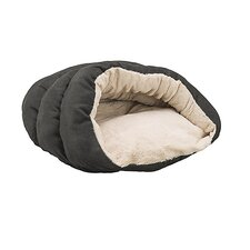 Cuddler Cave Hooded Dog Bed