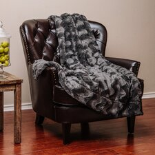 Super Soft Warm Elegent Waivey Pattern Cozy Sherpa Throw Blanket