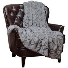 Super Soft Cozy Faux Fur Geometric Sherpa Throw Blanket