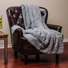Embosed Pattern Super Soft Fuzzy Warm Fur Throw Blanket