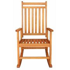 LuuNguyen Franklin Outdoor Hardwood Rocking Chair