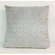Soft Velvet Plush Fabric Embroidered Throw Pillow (Set of 2)