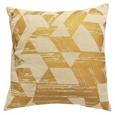 Metallic Printed Throw Pillow