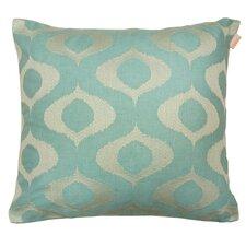 Tyra Embroidered Decorative Linen-blend Throw Pillow