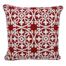 Licia Decorative Embroidered Throw Pillow