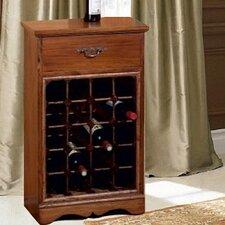 20 Bottles Floor Wine Rack