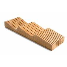 Organic Bamboo Knife Block Organizer