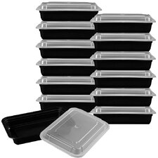 12-Piece Premium Meal Prep Food Storage Container Set (Set of 12)