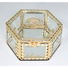 Glitzy Rose Jewelry Box