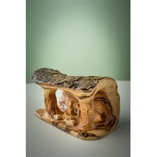 Olive Wood Small Grotto Carved in Branch