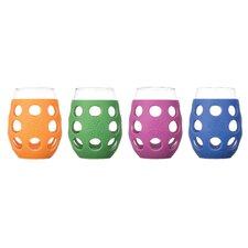 4 Piece 11 oz Wine Glass Set