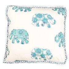Elephant Caravan Cushion Cover