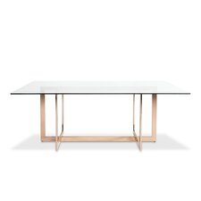 Cooper Dining Table with Glass Top