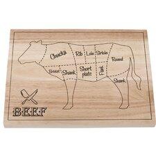 Beef Cut Pieces Cutting Board