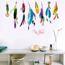 Feathers of a Feather Wall Decal
