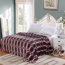 Ultra Comfort Contemporary Style Micro-Fleece Blanket
