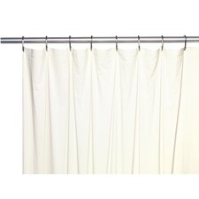 Vinyl 5 Gauge Shower Curtain Liner with Metal Grommets