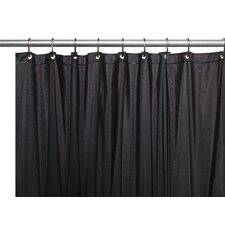 Premium 4 Gauge Vinyl Shower Curtain Liner with Weighted Magnets and Metal Grommets