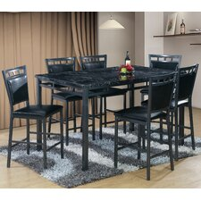 7 Piece Counter Height Dining Table Set