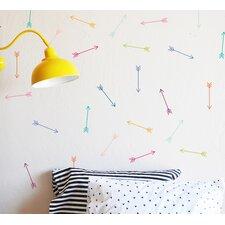 Bright Dainty Arrows Wall Decal