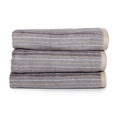Redwood Stripe Jacquard Cotton Bath Towel