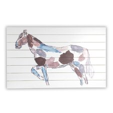 Painted Horse Sketch Wall Décor