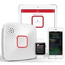 Wi-Fi Smoke + Carbon Monoxide Alarm, Battery, Apple Home Kit-Enabled