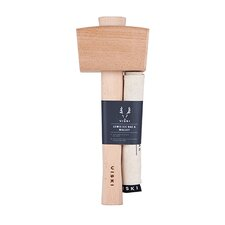 Professional Grade Lewis Canvas Ice Bag and Beechwood Mallet Set