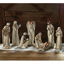 8 Piece Nativity Set