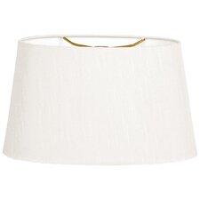 "16"" Timeless Linen Shallow Oval Lamp Shade"