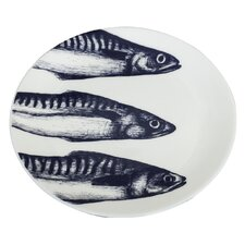 Maritime 26cm Mackerel Heads Plate