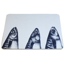Mackerel Heads Placemat