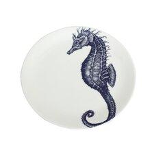 Maritime 26cm Seahorse Plate
