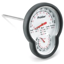 Dual Sensor in Oven Dial Meat Thermometer