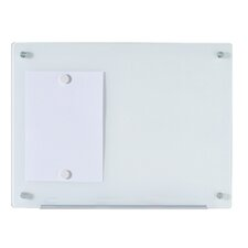 Dry-Erase Wall Mounted Magnetic Glass Board