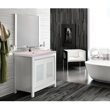 "Versalles 32"" Single Vanity Set with Resin Top"