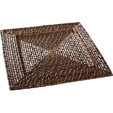 Drew Rattan Charger Plate (Set of 4)